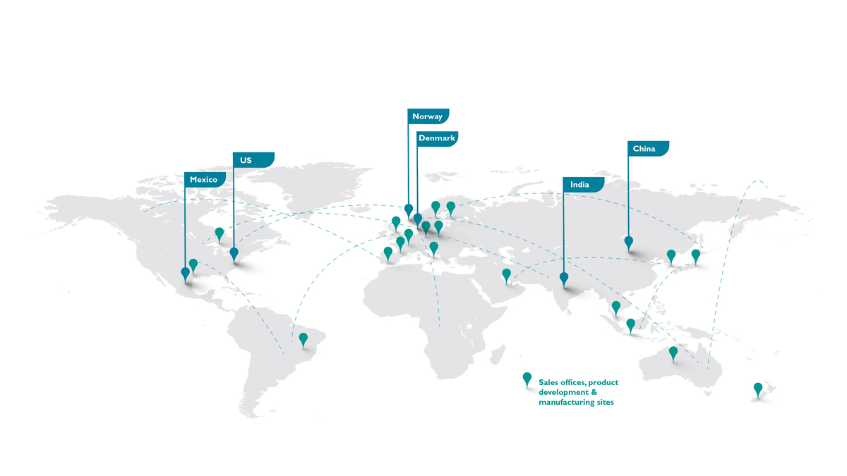 Laerdal offices worldwide